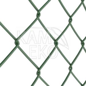 Siatka ogrodzeniowa powlekana zielona