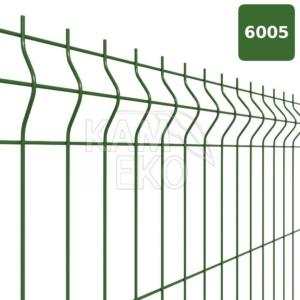 Panel ogrodzeniowy 3D zielony