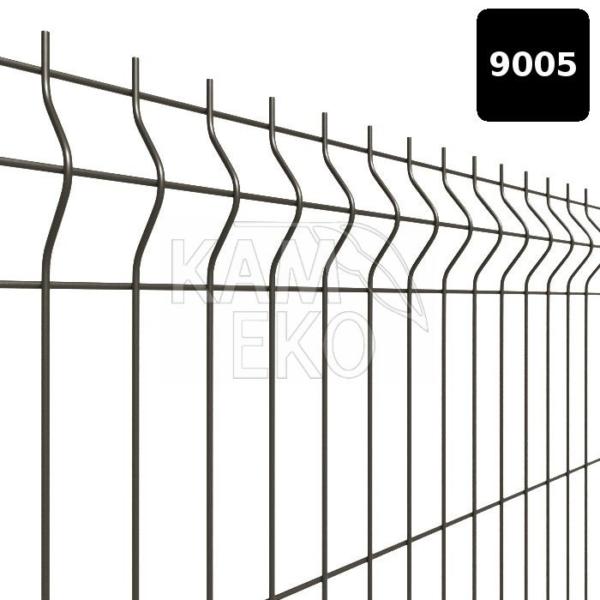 panel ogrodzeniowy z przetłoczeniami