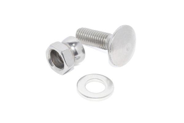Śruba zamkowa, nakrętka zrywalna i podkładka
