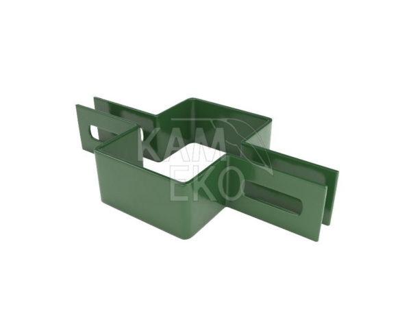 Obejma pośrednia 60x40 mm do paneli ogrodzeniowych
