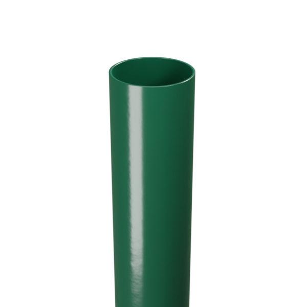 Słupek ogrodzeniowy okrągły zielony