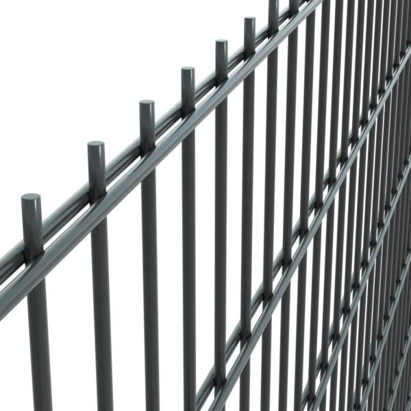 Panel ogrodzeniowy 2D fi 6/5/6 50×200 grafitowy