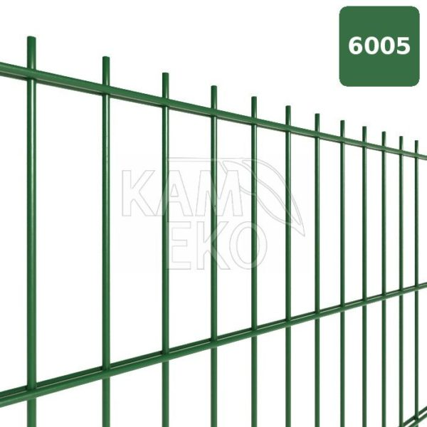 Panele ogrodzeniowe 2D fi 6/5/6 50×200 ocynk zielony